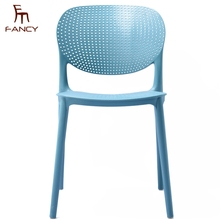 Wholesale cheap fancy colorful designer comfortable pp dining chair