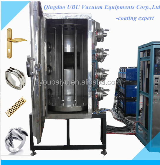 High Vacuum PVD Metallization Coating Machines/vacuum mettalizer equipment/machine for PVD plastic chroming metallizing plant