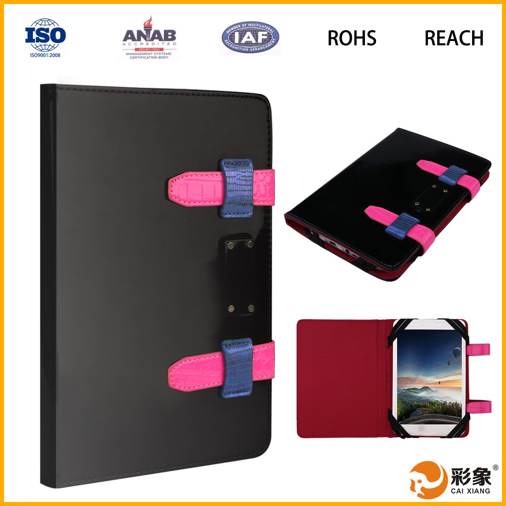 New China products for sale leather tablet cover case