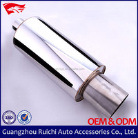 (8004s)Polished Exhaust Flex Pipe 6 size can fit on different car