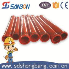Free sample Dn125*3m 20# steel 16Mn dn125 concrete pipe