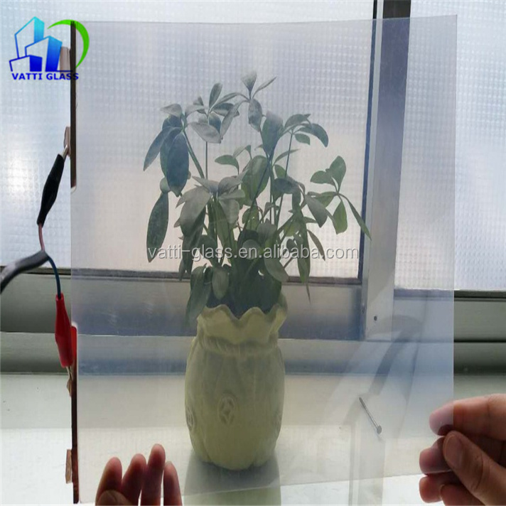 Electronic PDLC smart tint electrically switchable smart glass electric control magic smart tint film