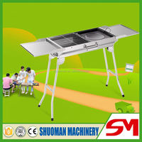 Most convenient and high quality smoke free charcoal bbq grill