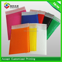 Blue Bubble mailing envelope,colorful Poly Material bubble wrap mailer envelopes