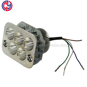 6-36V 5LEDS square 15W motorcycle led lighting