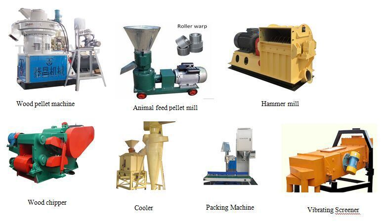 Farm Machinery Feed Processing Machines TCZL350 animal feed pellet machine for cow