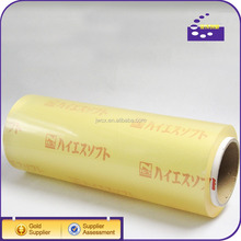 Food Grade Clear Plastic Wrap PVC Cling Film Wrap For Food