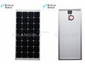 160 Watt 24v Monocrystalline Solar Panels 16% PV Module Efficiency For Home