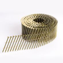diamond screw coil nails 15 degree made in factory