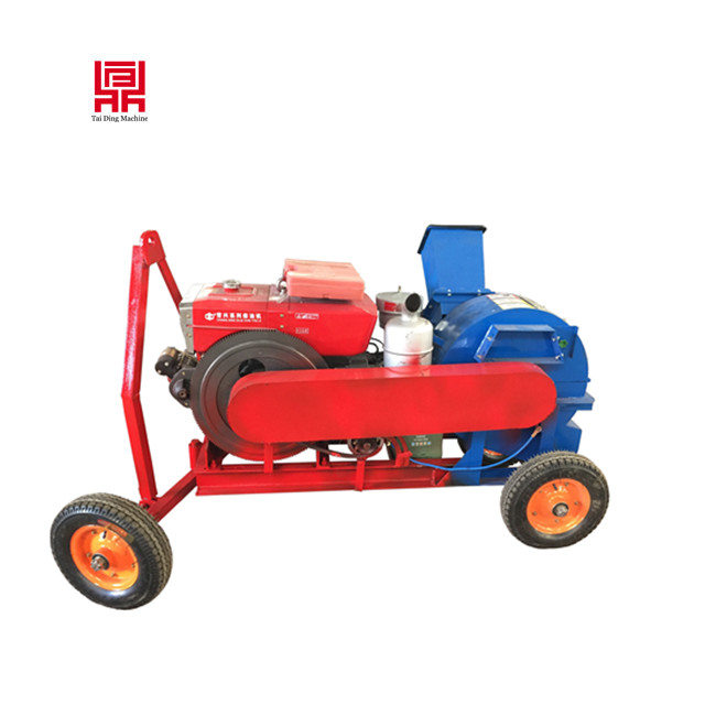 cheap Waste wood crusher / Diesel type wood mill machine for sale