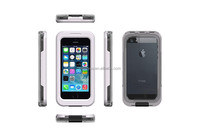 Waterproof gorilla glass aluminum metal case,dirtproof waterproof shockproof phone case for iphone 6