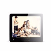 SH8028DPF 8 inch metal digital photoframe with memory