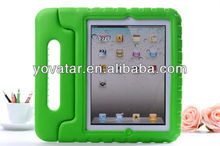 Kid-Friendly Protective Foam Shell EVA soft Case for iPad3 Green