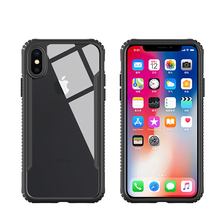 Best Supplier TPU PC Mirror Tempered Glass Cell Phone Case Printing For Iphone 8 Case
