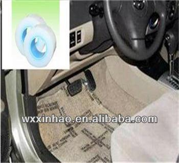 Removeable PE protective film for automobile carpet