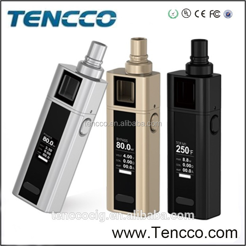 Tencco Supply 2016 Hot Selling Stock Offer Joyetech Cuboid Mini 80W free shipping