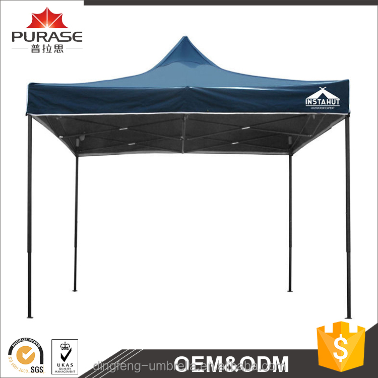 Zhongshan wholesale high-end product outdoor promotional easy up folding tent aluminium frame gazebo