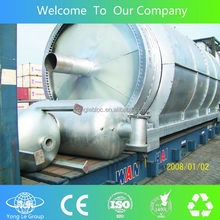 waste recycling usedc tire pyrolysis plant for sale