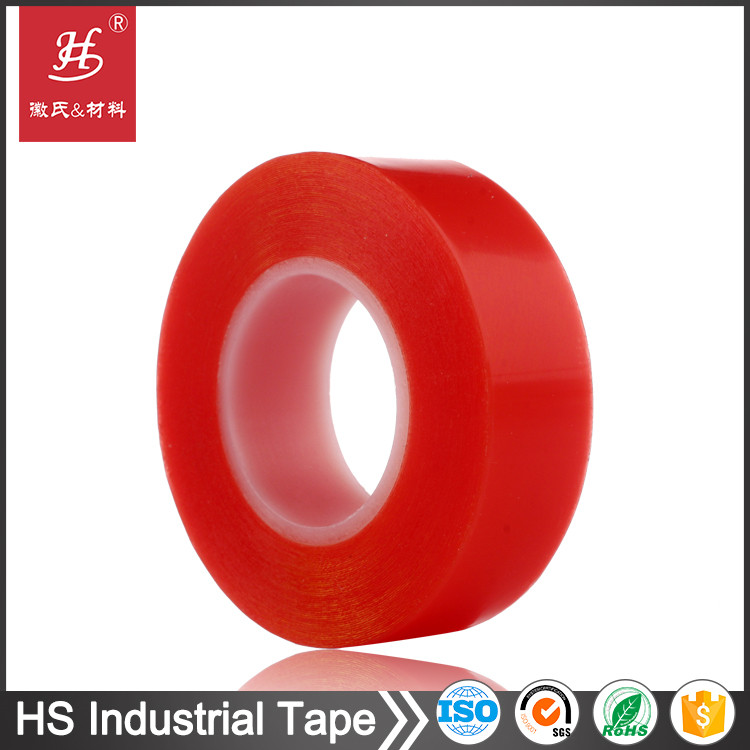 Red MOPP release film liner 0.2mm Thickness Double Sided PET Tape