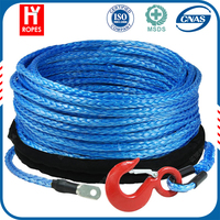 blue strand wire rope, super quality newest uhmwpe winch rope, nylon wire rope