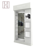 High end customized boutique modern cosmetic display cabinet
