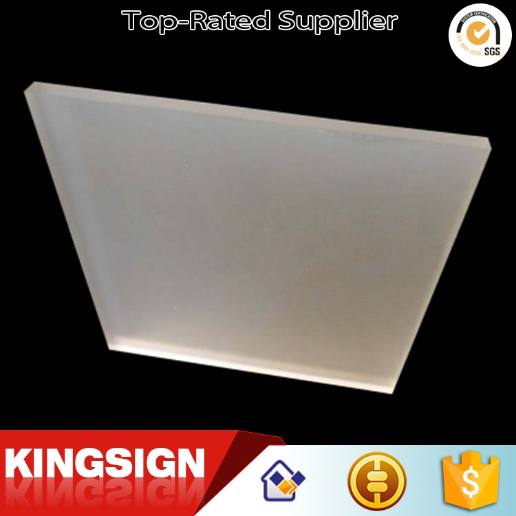 Low price high grade clear pc frosted acrylic sheet