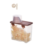 Eco-freindly Clear Food Plastic Canister