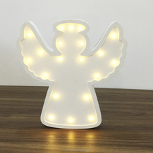 Angel decoration kid wall ornaments kids battery led toy lamp led tabletop night lights
