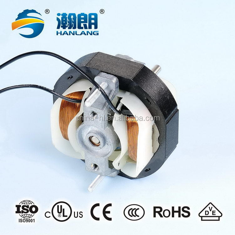 Fashionable stylish ac shade pole motor with cross flow fan