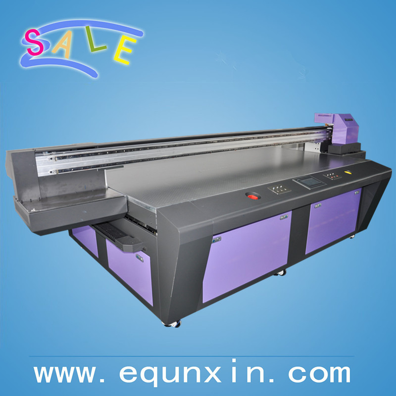 Gen5 print head printer for advertising printing, ceramic printing, leather printing high quality UV flatbed printer