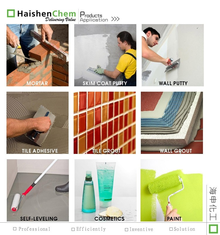 HPMC thickener Similar to Dow Walocel XM 30000PV applied in paints