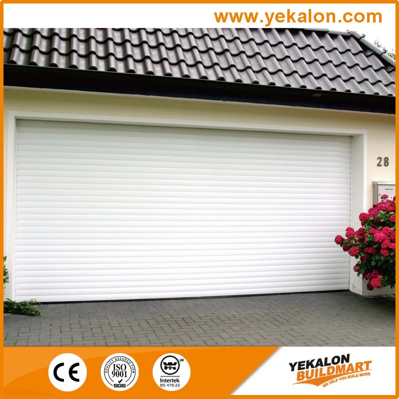 Yekalon the perfect combination of desing and function high speed roller up shutter aluminium garage door