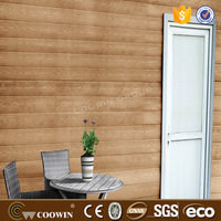 Decorative wood plastic composite wall partition for wholesales