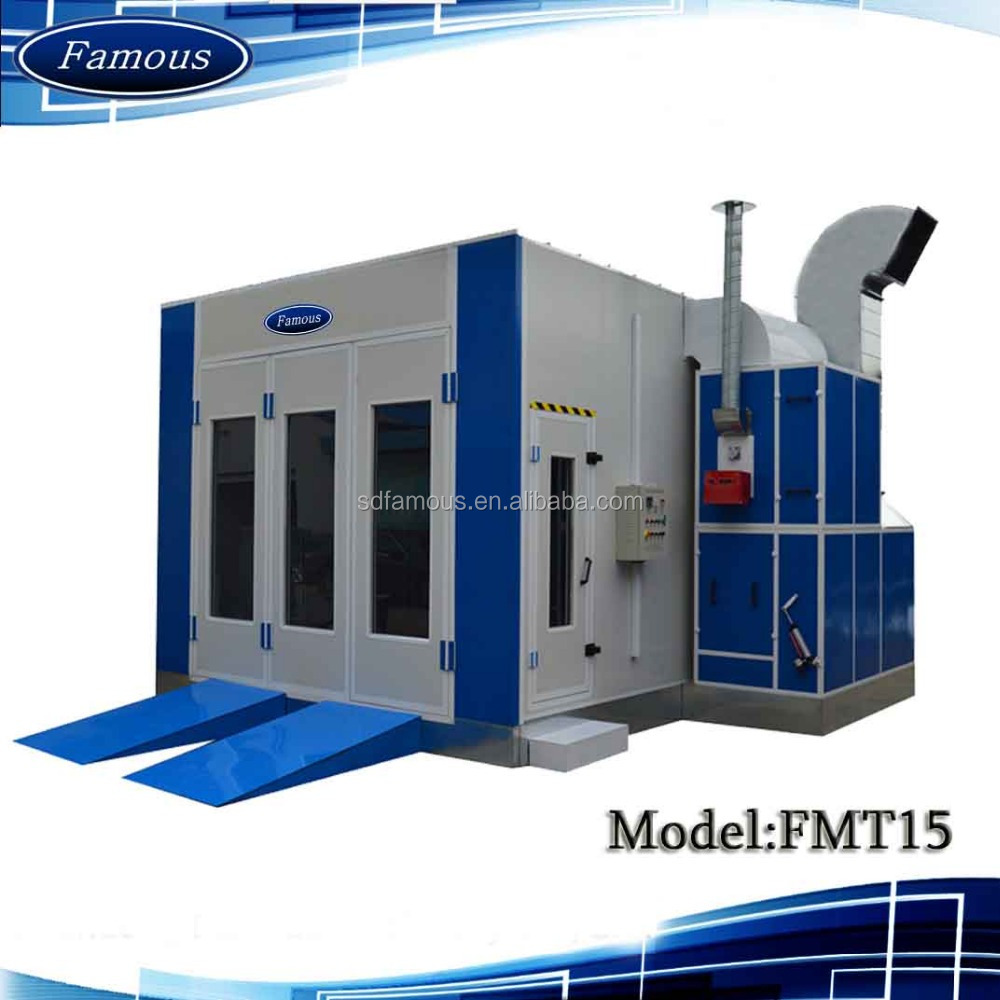 2016 CE approved famous powder coating oven/used paint booth/car workshop equipment