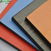 Jialifu black colored compact laminated wood hdf sheet