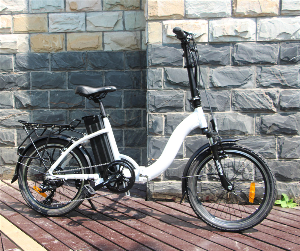 Brushless hub motor 20 inch lici folding electric bicycle for sale