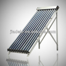 Pressurized Solar Collector with heat pipe