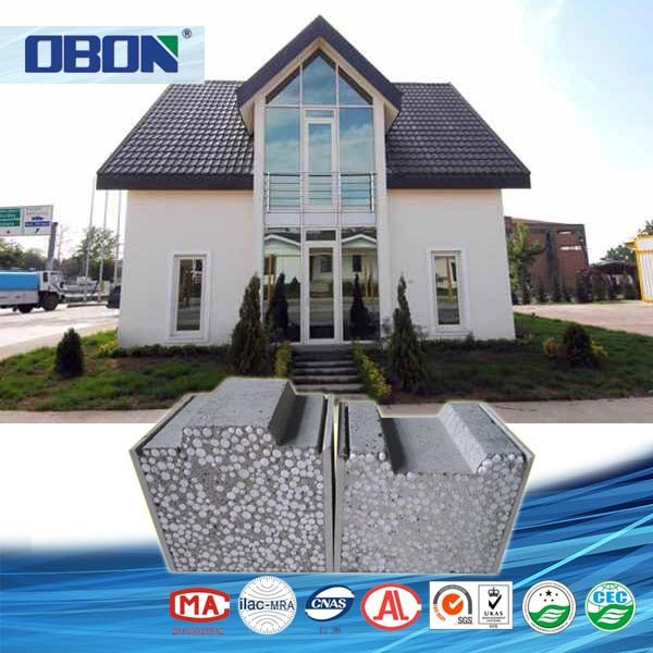 OBON fireproof quick build modern modular prefabricated concrete houses prices