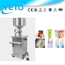 Penumatic Ointment filling machine /manual Ointment filler machine