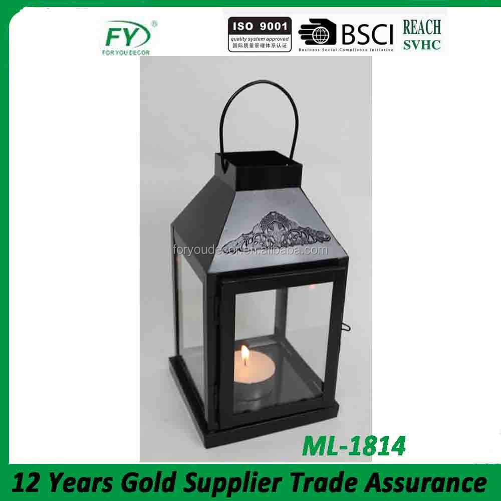 ML-1814 turkish wholesale garden decorative metal tealight lanterns