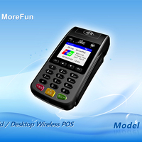 GPRS Handheld Retail Pos System Point Of Sale Terminal PCI device All In One
