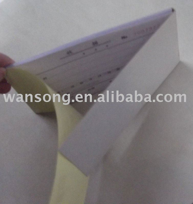 factory made customized Invoice printing, note book printing, receipt printing