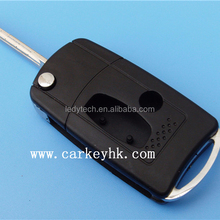 Car key remote covers for Mitsubishi flip modified key