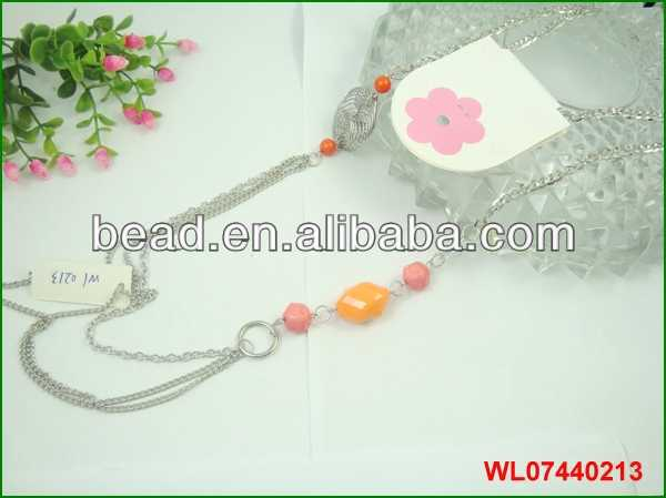 2014 hot fashion necklaces jewelry good feeling silicone necklace