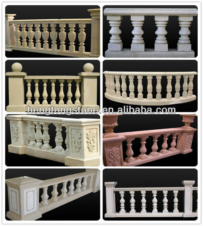 Marble Balcony Railing Designs