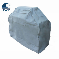 BBQ Accessories Blue Decorative dustproof barbeque grill cover