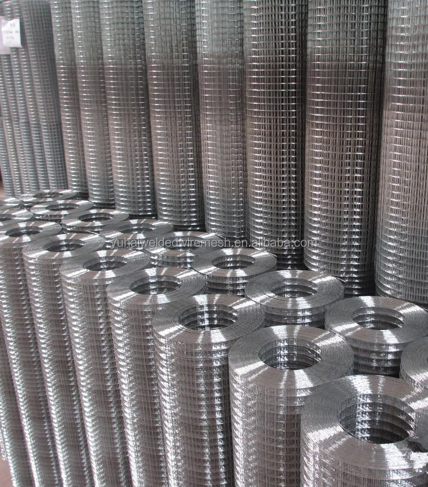 factory offer stainless steel welded square wire mesh / hardware cloth with free samples