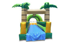Popular Inflatable Single Lane Slip and Slide, inflatable dry slide