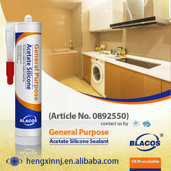 Prefessional Broad Adhesion Uv Resistance Non Yellowing Silicone Sealant Glass Adhesive