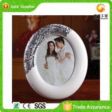 Chinese Supplier Supply Stand For Small Photo Frame Plastic Round Photo Frame